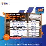 Ekspedisi pengiriman barang Bandung Jayapura murah